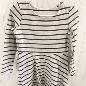 Girls H&M striped dress